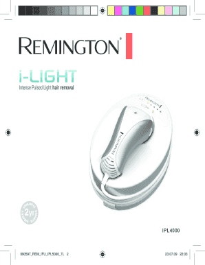 090597 REM IFU IPL5000 7L - Remington UK