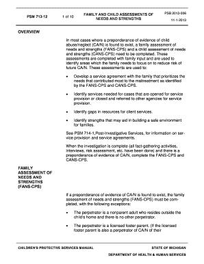 sample family assessment paper