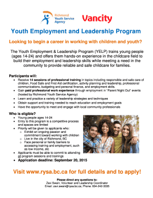 Youth Mentor Resume Examples Employment And Leadership Program
