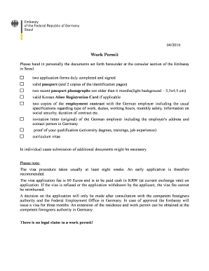 germany visa application form pdf