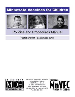 financial policies and procedures manual pdf