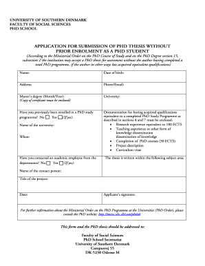 Social science phd research proposal