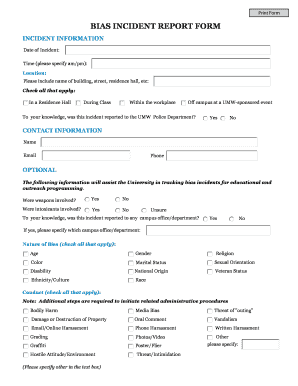 Printable incident report letter sample in workplace - Edit, Fill