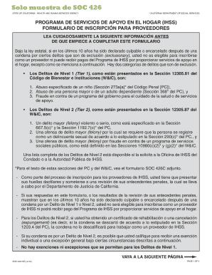 soc 426 Fillable Online SOC 426 SP - brevab-bpabbcomb Fax Email Print ...