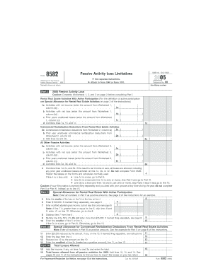 Printable Form 8582 - Edit, Fill Out & Download Hot Tax Forms in ...
