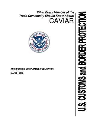 Customs and Border Protection (CBP) as of the date of publication, which is shown on
