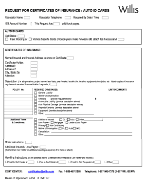 free fillable auto insurance id card - Edit & Fill Out Top ...