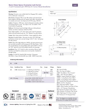 ISO 6 Standard Optional Basic Clean Space ... - Kurtzon Lighting  sc 1 st  business-continuity-plan-template.com & Editable iso iec 27031 pdf free download - Fill Out Best Business ... azcodes.com
