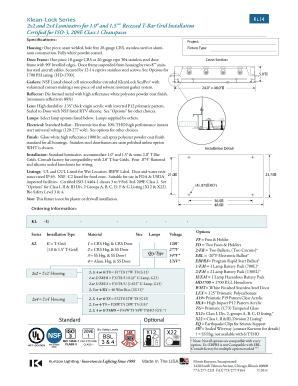 Fill Online  sc 1 st  PDFfiller & Fillable Online Standard Klean-Lock Series 2x2 and 2x4 ... azcodes.com