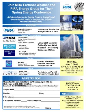 Pira Energy Group - Energy Etfs