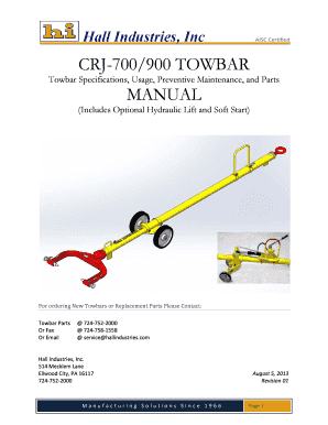 fillable online crj 700 manual rev01 fax email print pdffiller rh pdffiller com Service Manuals Maintenance Man