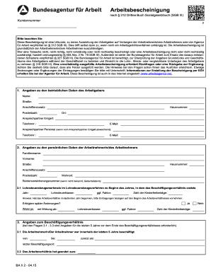 arbeitsbescheinigung download - Arbeitgeberbescheinigung Muster