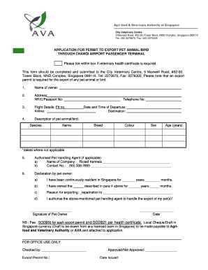 veterinary health certificate form fill out print download online forms templates in word. Black Bedroom Furniture Sets. Home Design Ideas