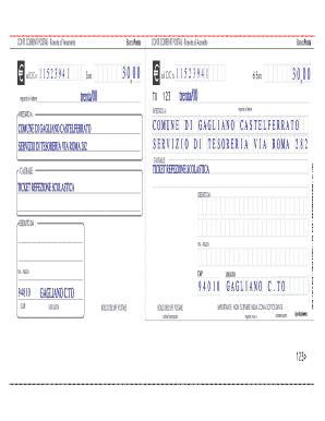 Bollettino Postale Editabile 2 Sezioni Pdf Fill Online Printable Fillable Blank Pdffiller