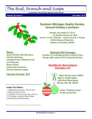 Southern Christmas Dinner Menu Ideas.Fillable Southern Christmas Dinner Menu Ideas Edit Online