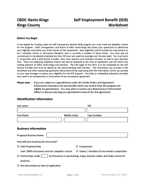 business start up costs worksheet