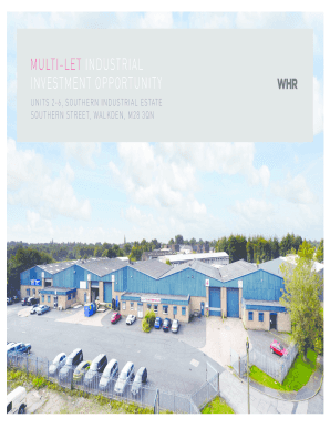Multi-let industrial investment opportunity - WHR Property Consultants - whrproperty co
