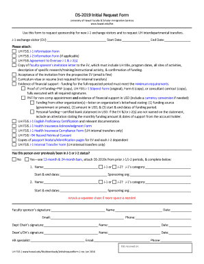DS2019 Initial Request Form University of Hawaii Faculty &amp - hawaii