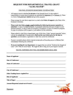 Get travel advance request letter Samples to Submit in PDF ...