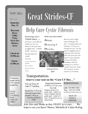 TEAM HALL Great Strides-CF - Michelle Roling