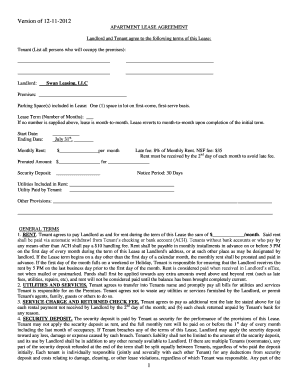 lease violation notice for noise - Fill Out, Print