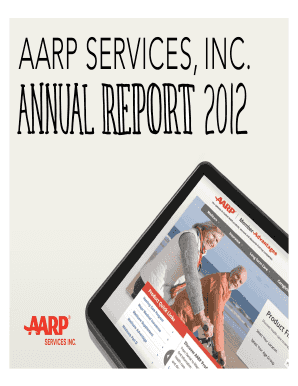 AARP Services 2012 Annual Report