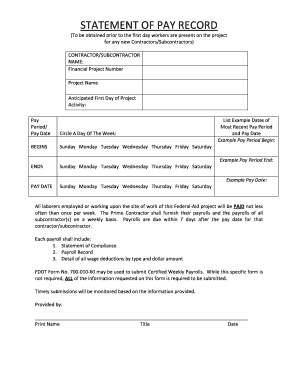 change to tax declartion form