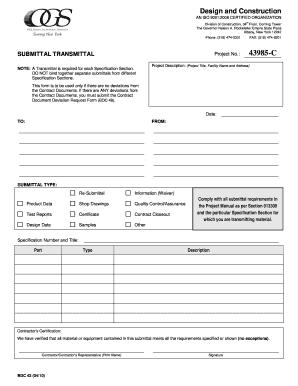 sample transmittal form template - Jcmanagement.co