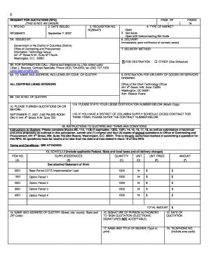 Fillable Online app ocp dc RFQ - NEW RFQ Form RQ364473.PDF. ESA ...