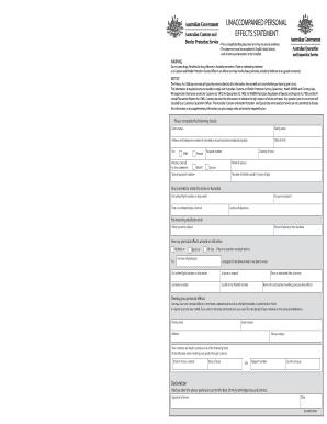Australian Customs Form Form B534 - Fill Online, Printable ...