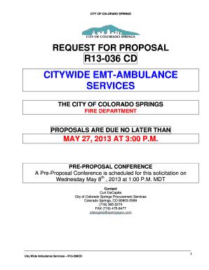 citywide ambulance colorado springs fill online printable fillable blank pdffiller. Black Bedroom Furniture Sets. Home Design Ideas