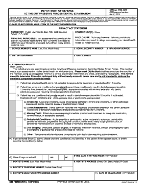 medical history forms templates