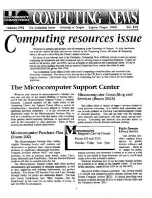 Computing resources issue - Scholars - University of Oregon - scholarsbank uoregon