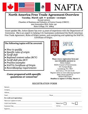 Editable north american free trade agreement certificate of origin north america free trade agreement overview seda cog yelopaper Image collections