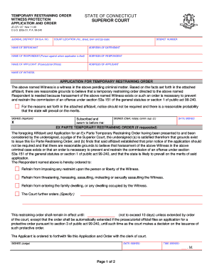 Writable Ga Temporary Protection Order Form - Fill Online ...