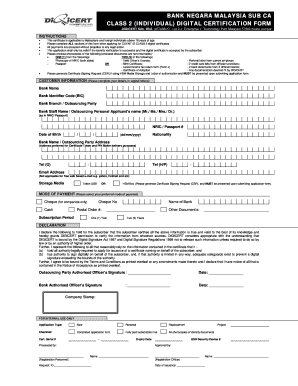 Fillable Online BNM - Individual Digital Certificate ... on job application nasa, job application jpeg, job application pdf, job application microsoft word, job application ca, job application red, job application template, job application ppt, job application doctor,