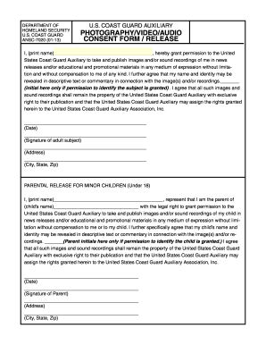 video surveillance consent form