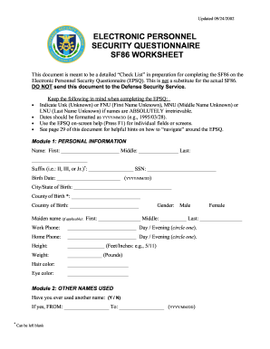 Printables Sf 86 Worksheet sf 86 worksheet marines form fill online printable fillable marines