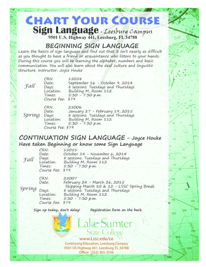 Sign Language - Lake-Sumter State College