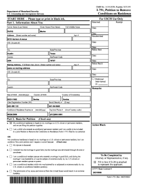 Printable i 751 province - Fill Out & Download Top Forms in PDF