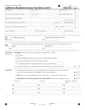 2ez Table - Fill Online, Printable, Fillable, Blank ...