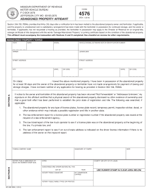 Missouri abandoned property bill of sale form templates for Missouri department of motor vehicles jefferson city