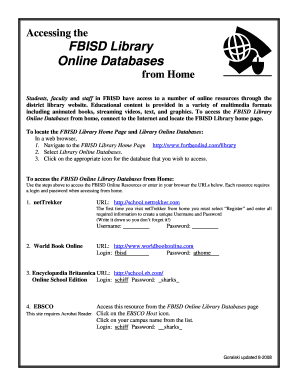 fbisd homepage Fbisd Homepage - Fill Online, Printable, Fillable, Blank | PDFfiller