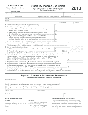 Wisconsin 2440w - Fill Online, Printable, Fillable, Blank | PDFfiller