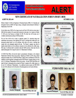 Fillable Online cryptocomb New certificate of naturalization (form ...
