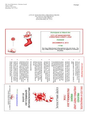 Manchester Tn Christmas Parade 2021 Manchester Tn Christmas Parade Fill Online Printable Fillable Blank Pdffiller