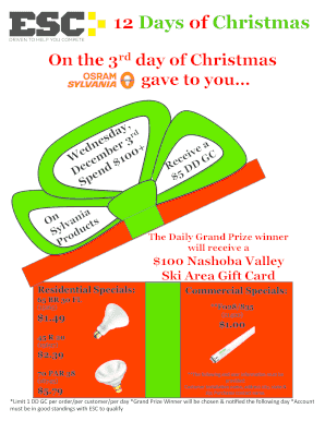 graphic about 12 Days of Christmas Printable Templates referred to as can how xmas flyer templates absolutely free - Edit, Print