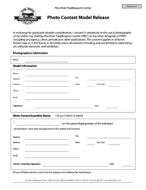 Photographer release form to client - Fill Out Online Documents ...