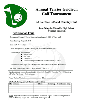 Football tournament form formats edit fill out online templates terrier golf registration form 2010doc altavistaventures Choice Image