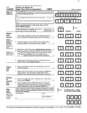 Editable 1040 sample form filled out - Fill, Print & Download